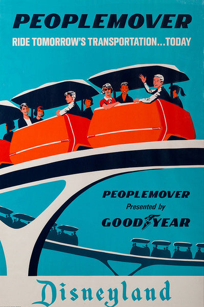 Disney People Mover - 0366