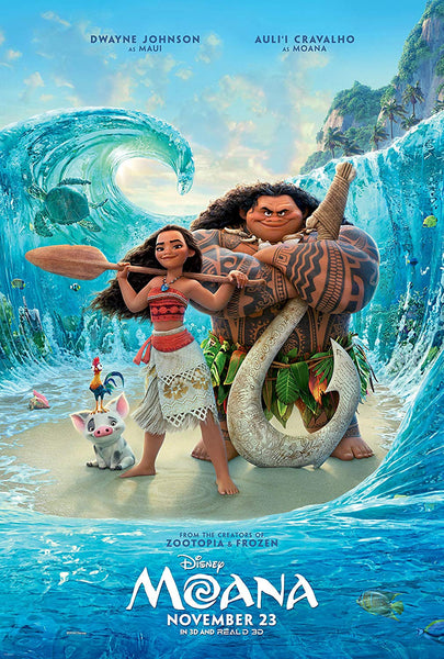 Moana Movie Poster - 0374