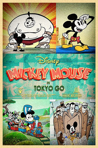 Mickey Mouse In Tokyo Go Weenie  - 0390