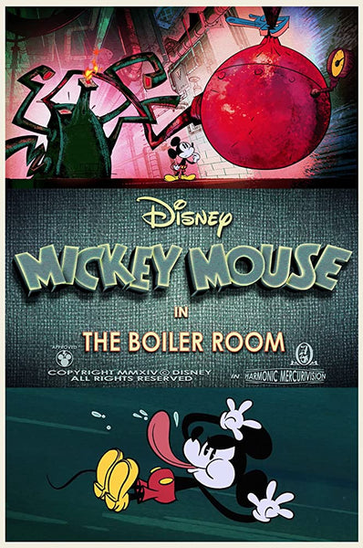 Mickey Mouse In The Boiler Room  - 0394