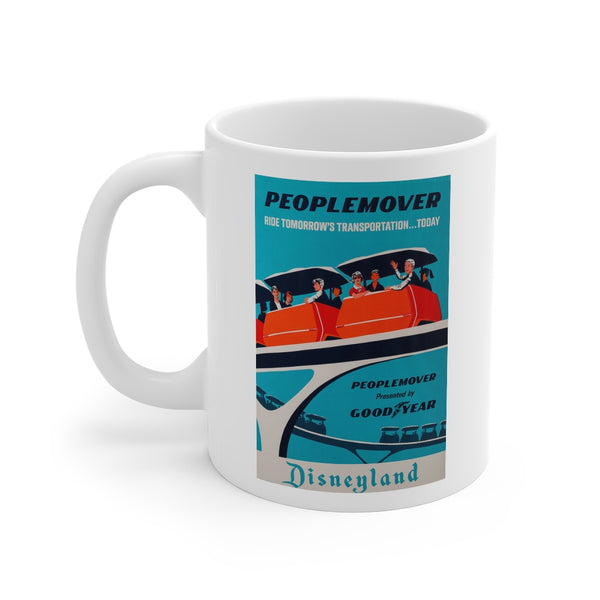 Disney Peoplemover Ride Beverage Mug