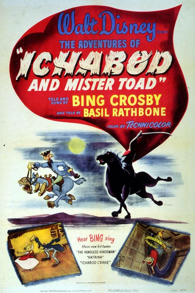Walt Disney Ichabod Movie Poster- 0407