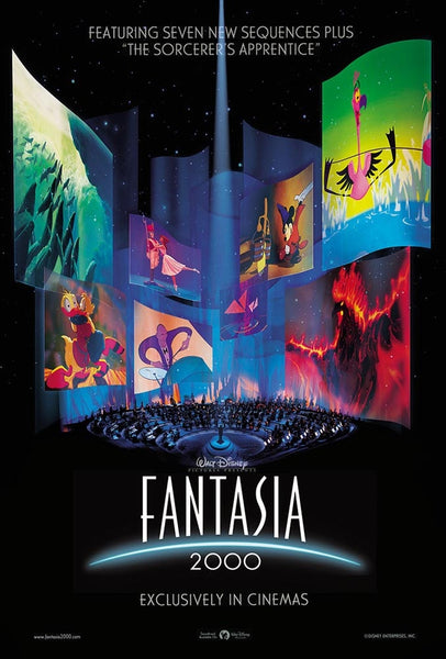 Walt Disney Fantasia 2000 Movie Poster- 0409