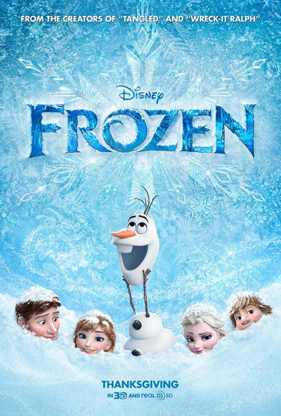 Walt Disney Frozen Movie Poster- 0411
