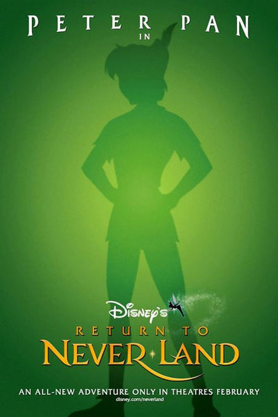 Walt Disney Peter Pan Movie Poster- 0413