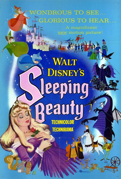 Walt Disney Sleeping Beauty Movie Poster- 0414