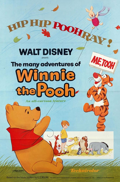 Walt Disney Winnie The Pooh Movie Poster- 0419