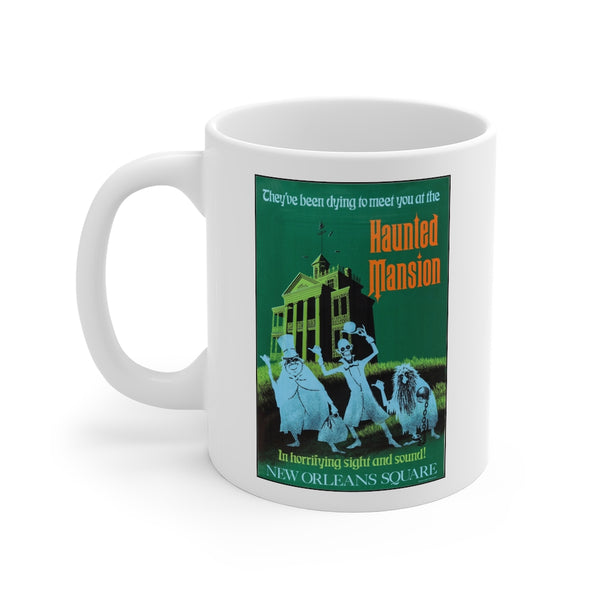 Disney Haunted Mansion Ride Beverage Mug