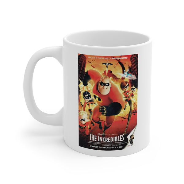 Disney The Incredibles Movie Beverage Mug