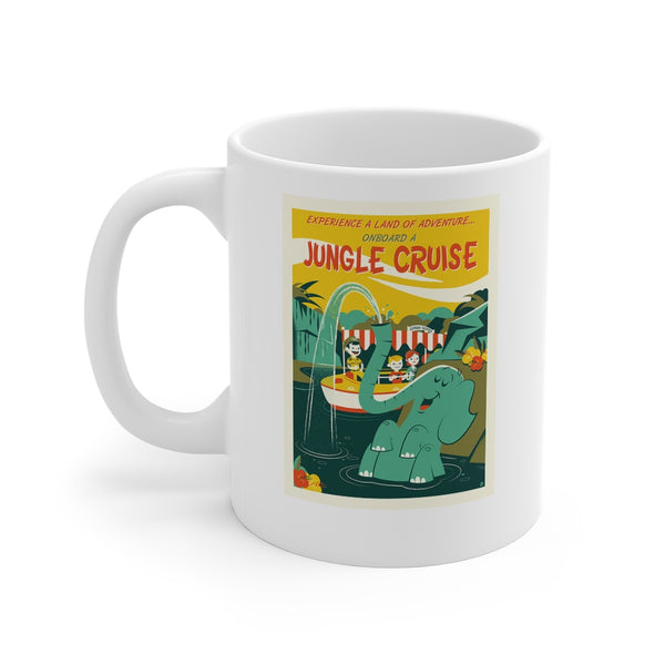 Disney Jungle Cruise Ride Beverage Mug