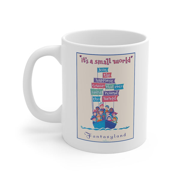 It's A Small World Ride Beverage Mug