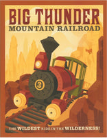 Big Thunder Mountain Railroad - 0437