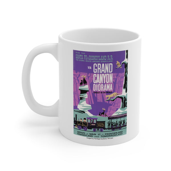 Disney Grand Canyon Diorama Beverage Mug