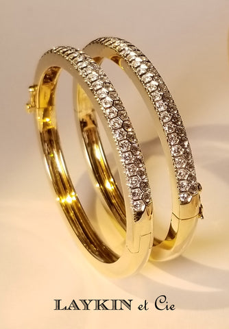 Classic Laykin Diamond Bangle Bracelet