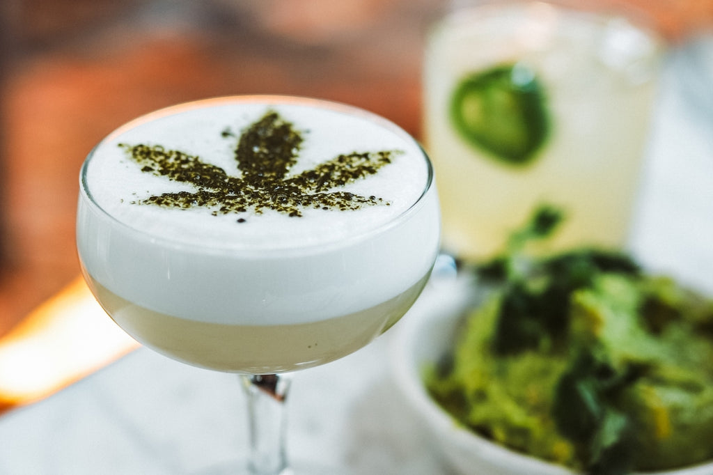 Picture of a weed drink.