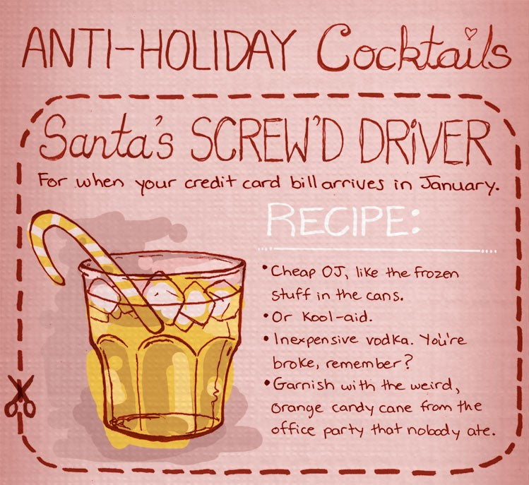 5 Special Anti-Holiday Cocktails