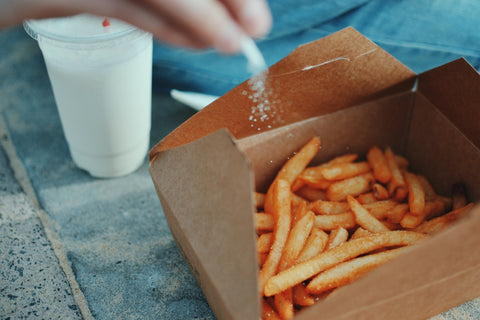 Fries are great food for hangovers if you eat it before drinking.