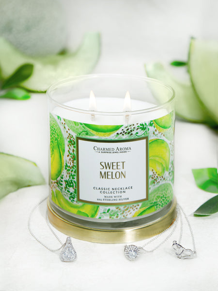 Sweet Melon Candle - Classic Necklace Collection