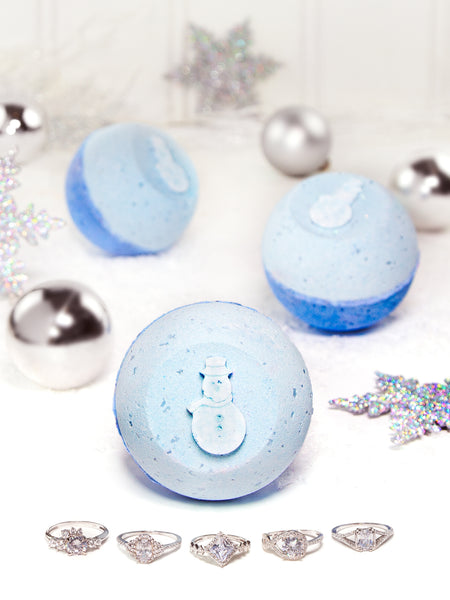 Snowman Bath Bomb - Classic Ring Collection