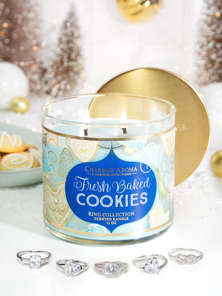 Fresh Baked Cookies Candle - Classic Ring Collection