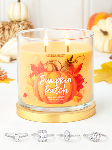 Pumpkin Patch Candle - Ring Collection