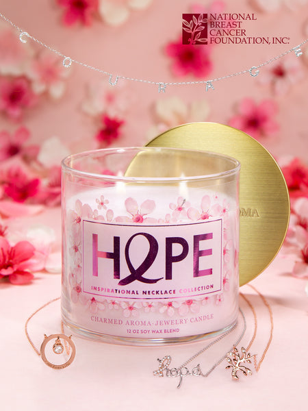 Hope Candle - Inspiration Necklace Collection
