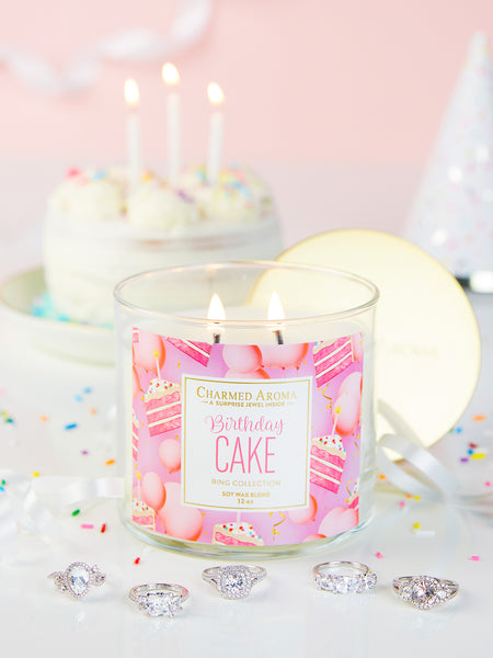 Birthday Cake Candle - Classic Ring Collection