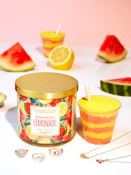 Watermelon Lemonade Gift Set - Ring & Necklace
