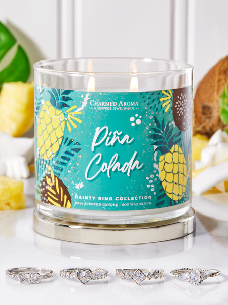 Pina Colada Candle - Dainty Ring Collection