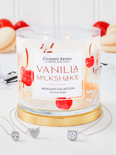 Vanilla Milkshake Candle - Necklace Collection