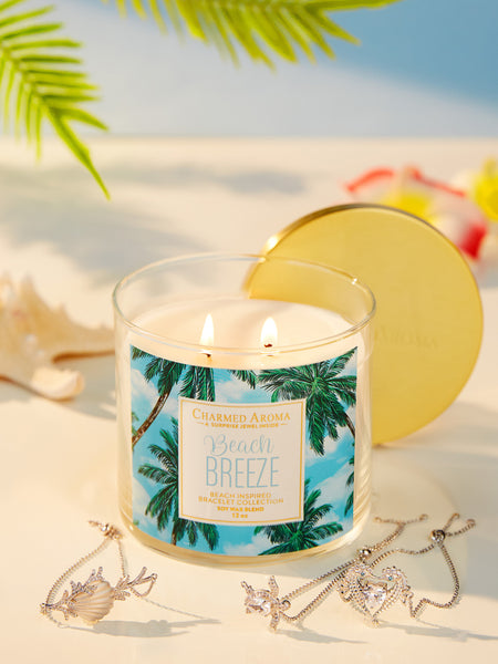 Beach Breeze Candle - Beach Bracelet Collection