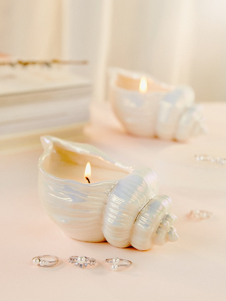 By the Sea Candle - Pearl-Inspired Ring Collection