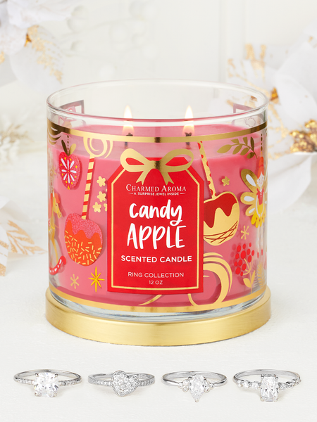 Candy Apple Candle - Ring Collection