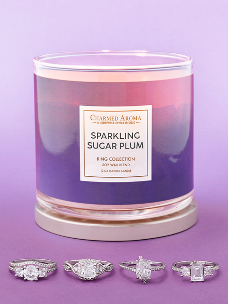 Sparkling Sugar Plum Candle - Ring Collection