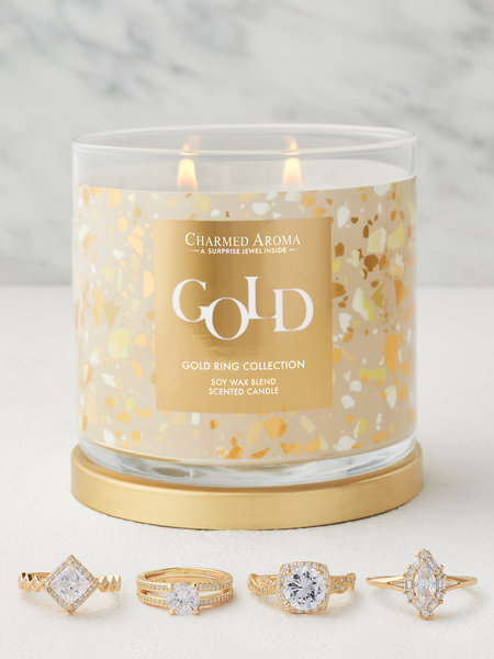 Gold Candle - Gold Ring Collection