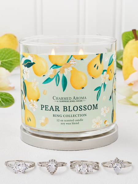 Pear Blossom Candle - Ring Collection