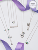 Alexandrite Birthstone Set - Ring & Necklace Made With Crystals from Swarovski®