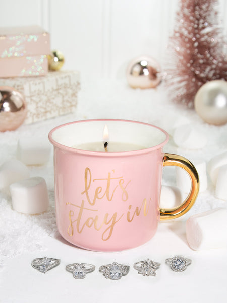 Marshmallow Hot Cocoa Candle - Classic Ring Collection