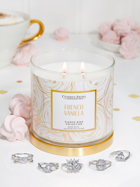 French Vanilla Candle - Classic Ring Collection
