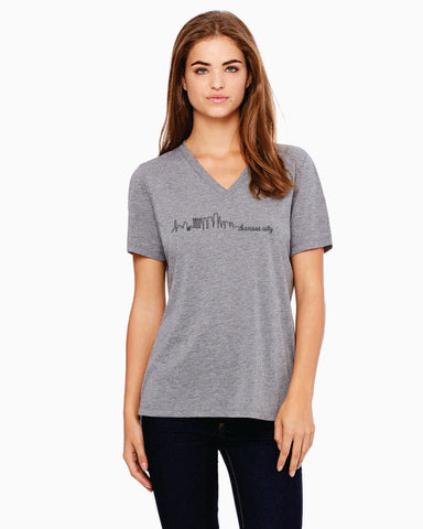 Skyline - Women's V-Neck