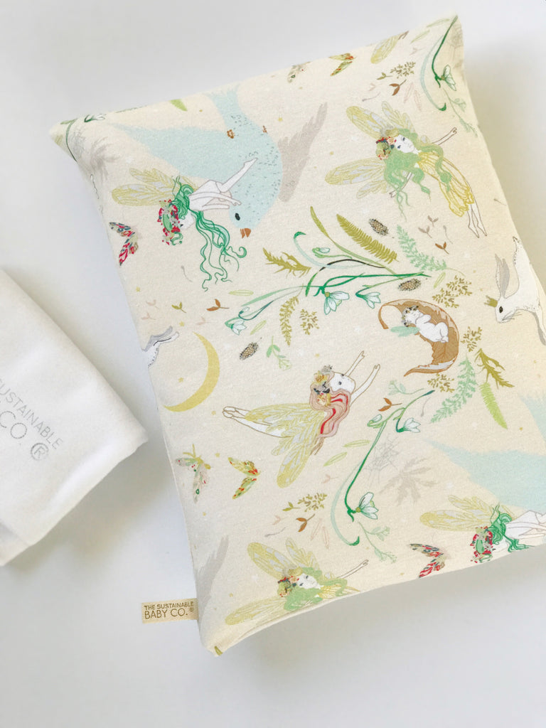 Sustainable Zen Pillow - Enchanted Fairies