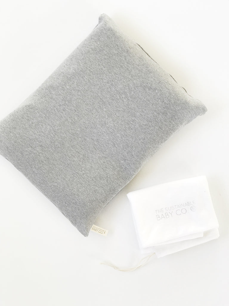 Sustainable Zen Pillow - Grey Melange