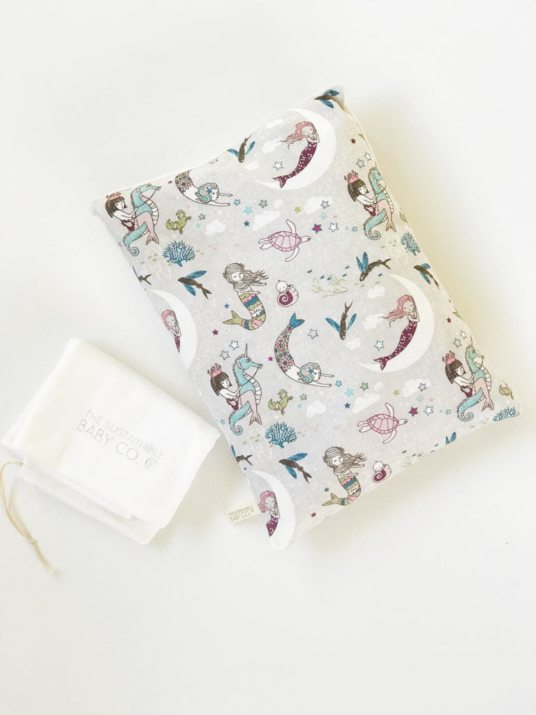 Sustainable Zen Pillow - Mermaid Lullaby Plum