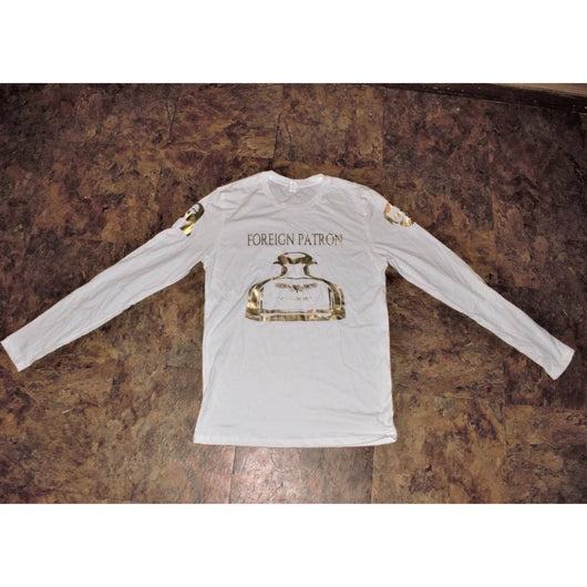 White and Gold Foreign Patron T-shirt