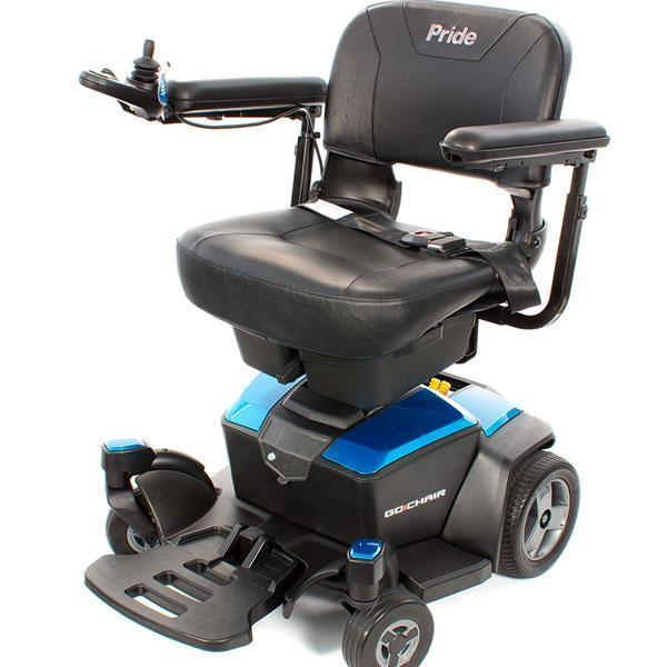Pride New Go Chair Powered Wheelchair-Pride Mobility-adaptationstation