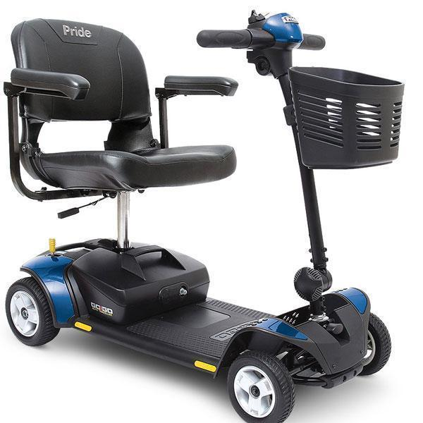 Pride Go-Go Elite Traveller 4 Mobility Scooter-Pride Mobility-adaptationstation