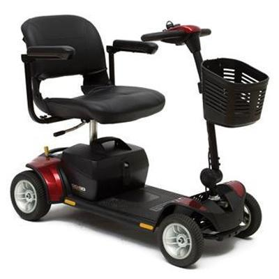 Pride Go-Go Elite Traveller Plus 4 Mobility Scooter-Pride Mobility-adaptationstation