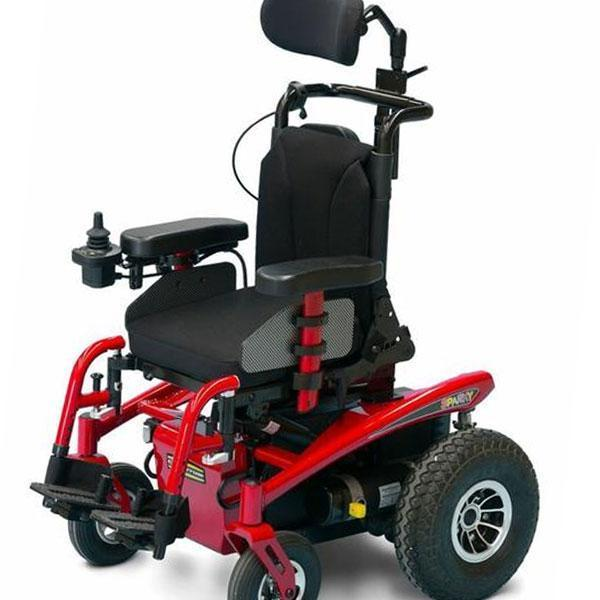 Pride Jazzy Sparky Power Chair-Pride Mobility-adaptationstation