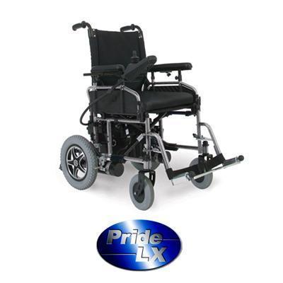 Pride LX 2 Power Chair-Pride Mobility-adaptationstation