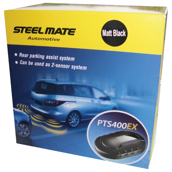 Steelmate PTS400EX Rear Parking Sensors-Steelmate-adaptationstation